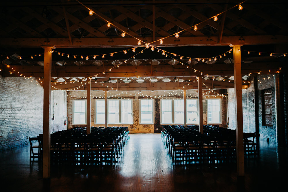 cozy and rustic wedding venue in downtown durham