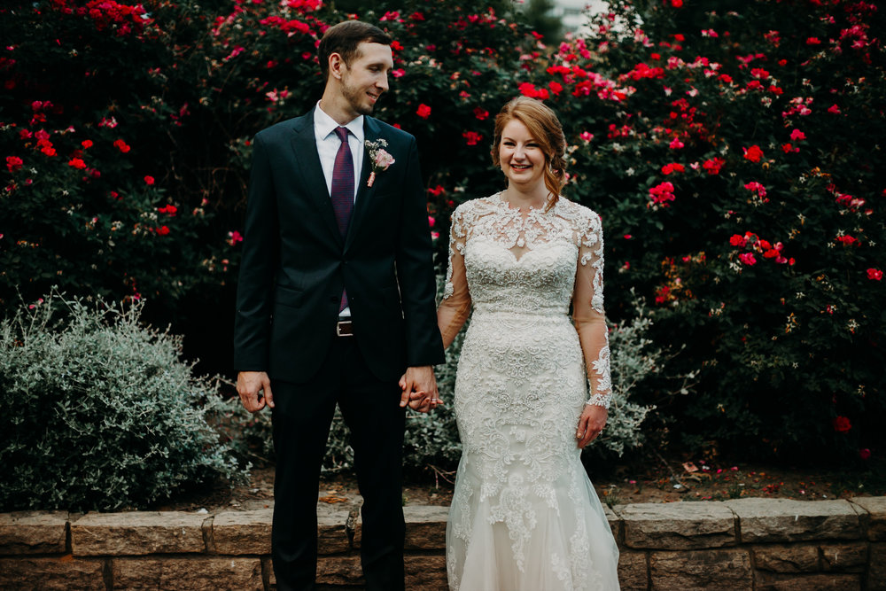 Intimate downtown Raleigh wedding at Cafe Luna