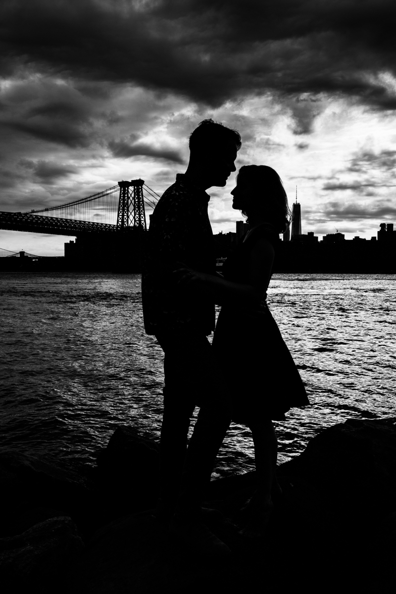 Brooklyn engagement session, New York Wedding Photographer