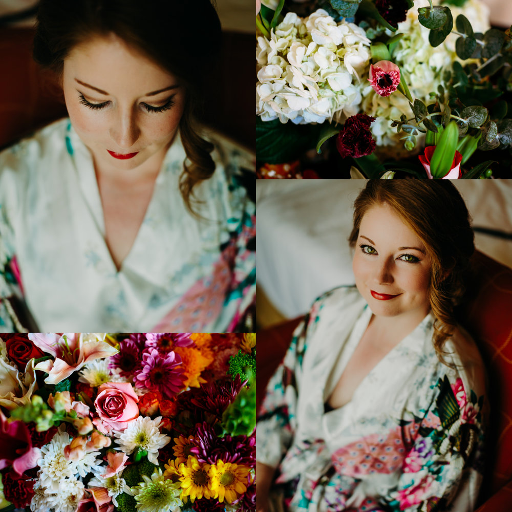 bridal portraits for downtown Raleigh wedding