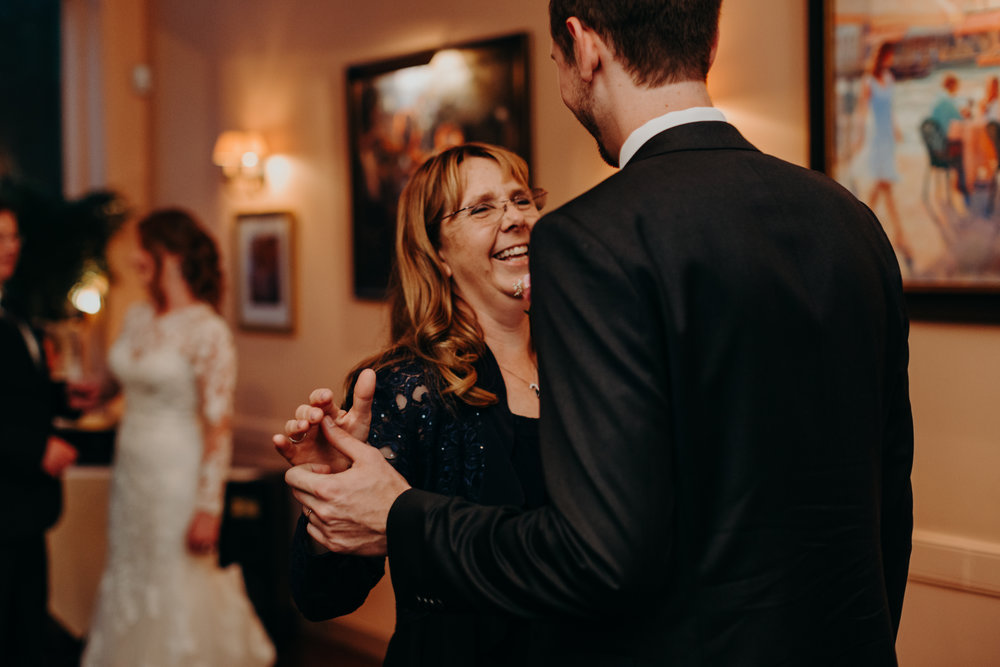 mother son dance downtown Raleigh wedding