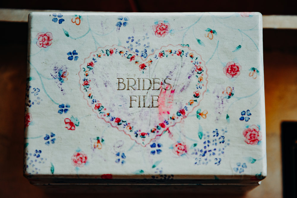 keepsake box from bride at Nolitan Hotel, Soho, New York City