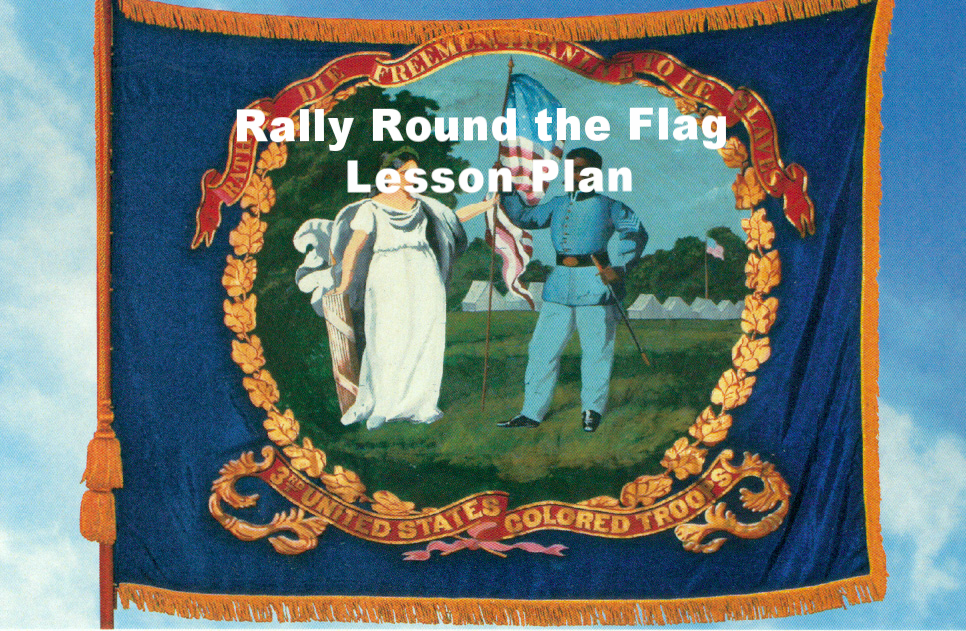 Rally Round the Flag Lesson Plan 3rd-5th Grade