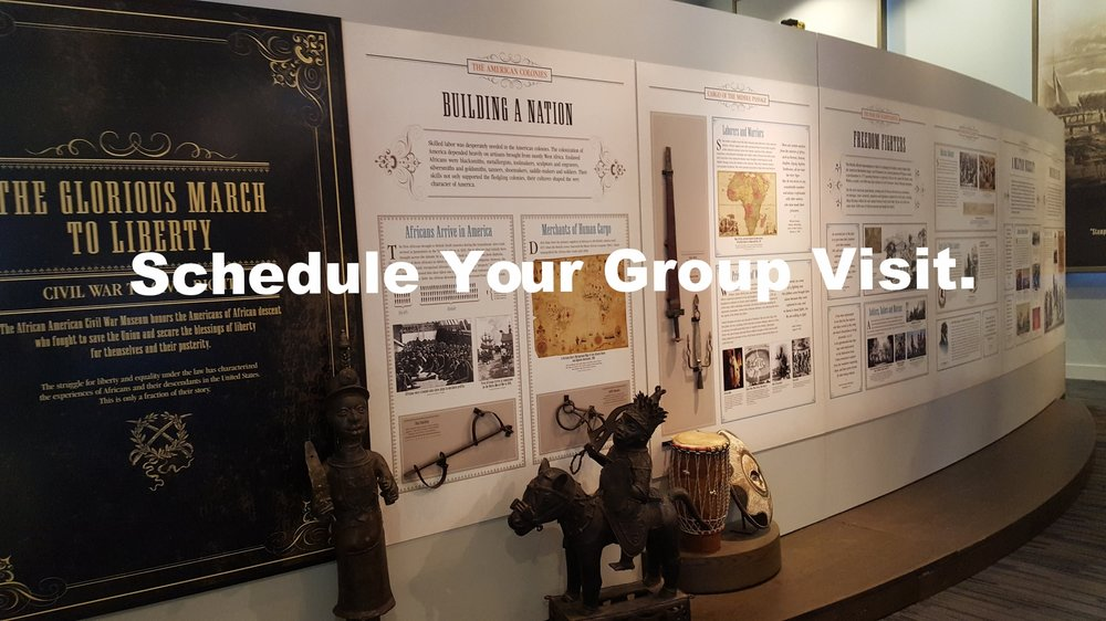 Schedule Your Group Visit.