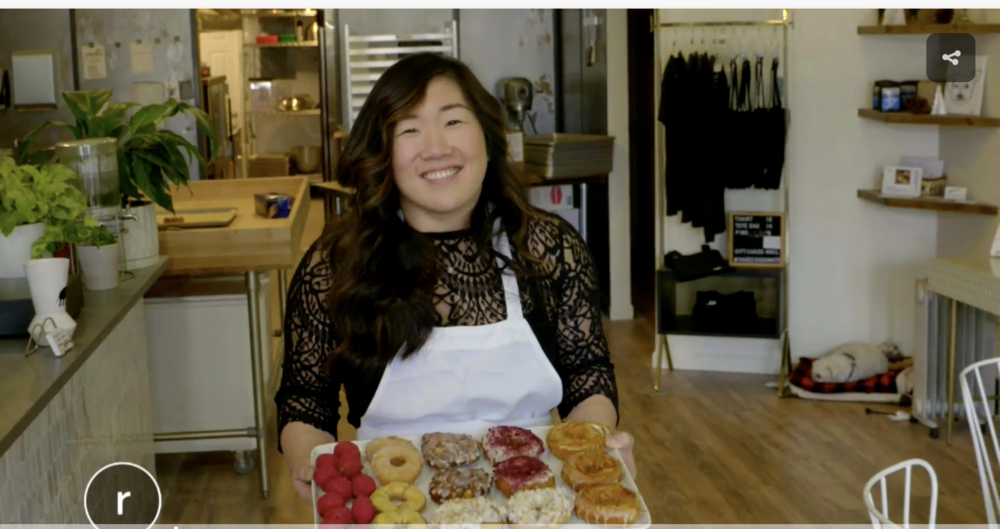 SEATTLE REFINED  5.5.19 Had a blast making doughnuts with Malia Karlinsky! Thanks for coming to hang out with us! (click for full video)