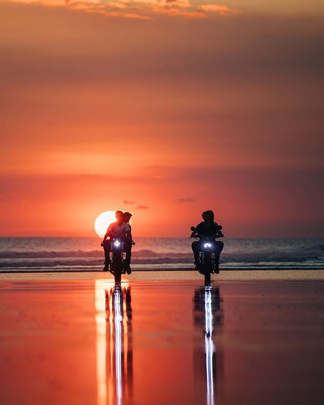 Let's ride into the setting sun // Bali 2018  Haven't really shot much since moving to San Diego from Bali and taking a position as Creative Director at @williampainter which is why I've been MIA. As spring rolls around I'm going to force myself to get out and shoot more and hopefully start a YouTube where I can help teach people whatever they want to learn.  Happy Tuesday everyone! #bali #canggu #malamadremotorcycles #ig_color #stayandwander #globe_visuals #highsnobiety #agameof10k #discoverer #weekly_feature #beautifulmatters #instagood10k #living_destinations #hbouthere #travelanddestinations #visualsoflife #instagood #AgameofTones #gramslayers #estheticlabel #eclectic_shotz #shotzdelight #main_vision #depthobsessed #lensbible #passionpassport #visualambassadors #moodygrams #ig_mood #artofvisuals