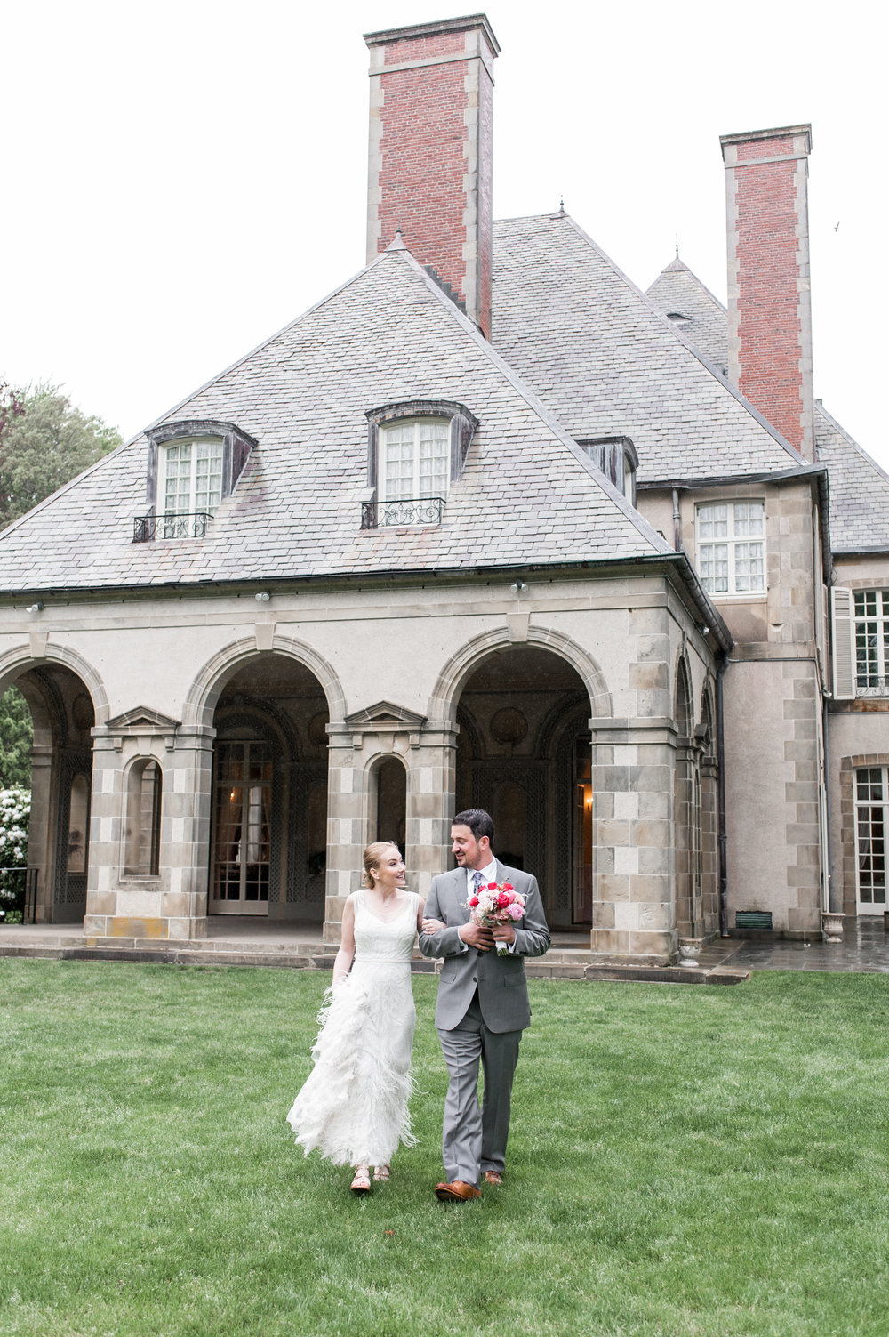A+Z's Elegant Estate Wedding at Glen Manor House
