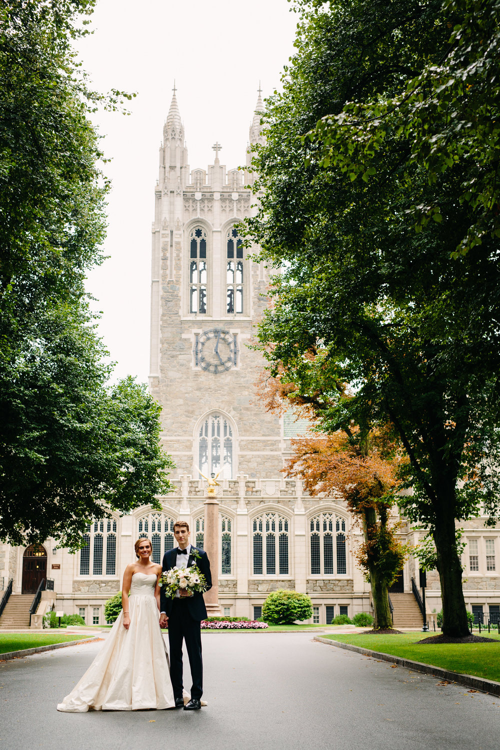 M+E's Classic Summer Wedding at Metropolitan Waterworks Museum