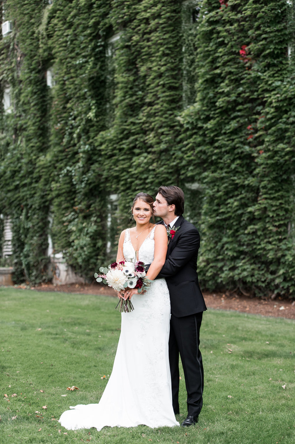 T+M's Timeless Fall Wedding at Holy Cross