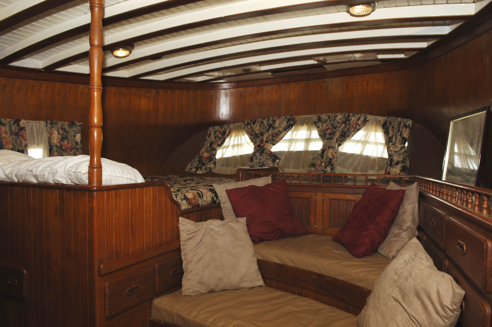 the aft cabin