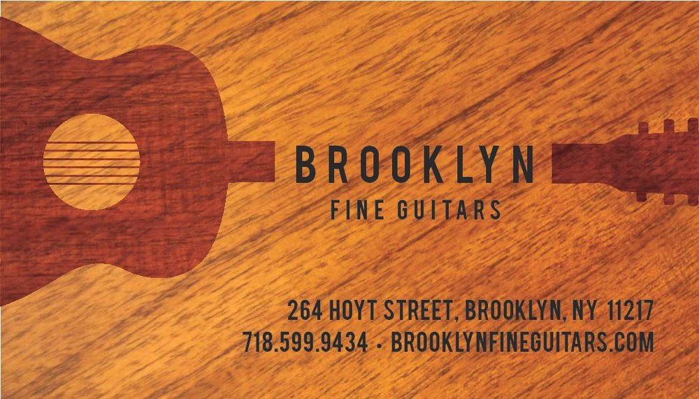 Brooklyn Fine guitars