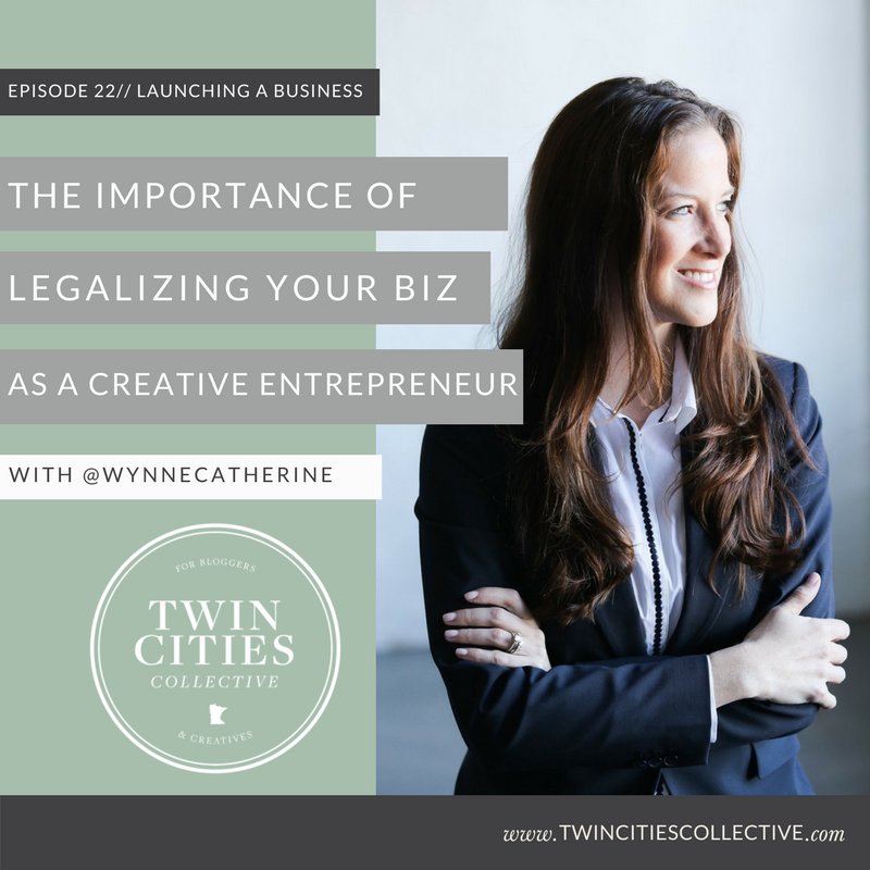 Legalizing your biz as a creative entrepreneur