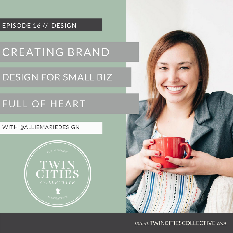 Creating brand design for small biz full of heart