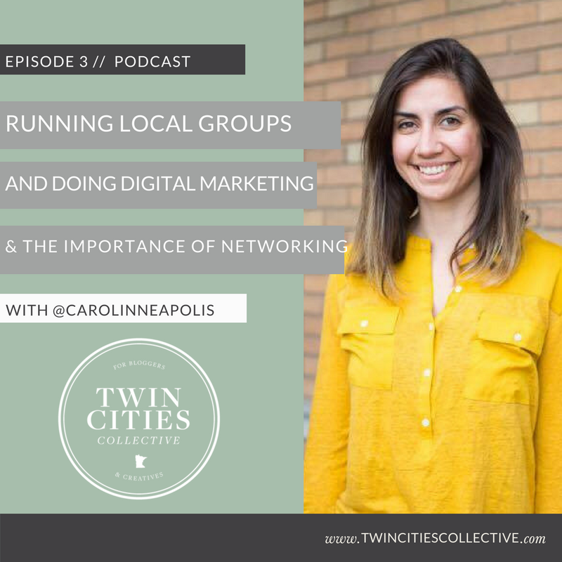 Running local groups, digital marketing & the importance of networking with @carolinneapolis