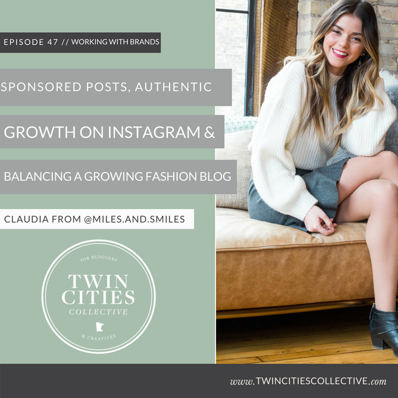 Sponsored Posts, Authentic Growth on Instagram & Balancing a Growing Fashion Blog with Claudia of @miles.and.smiles