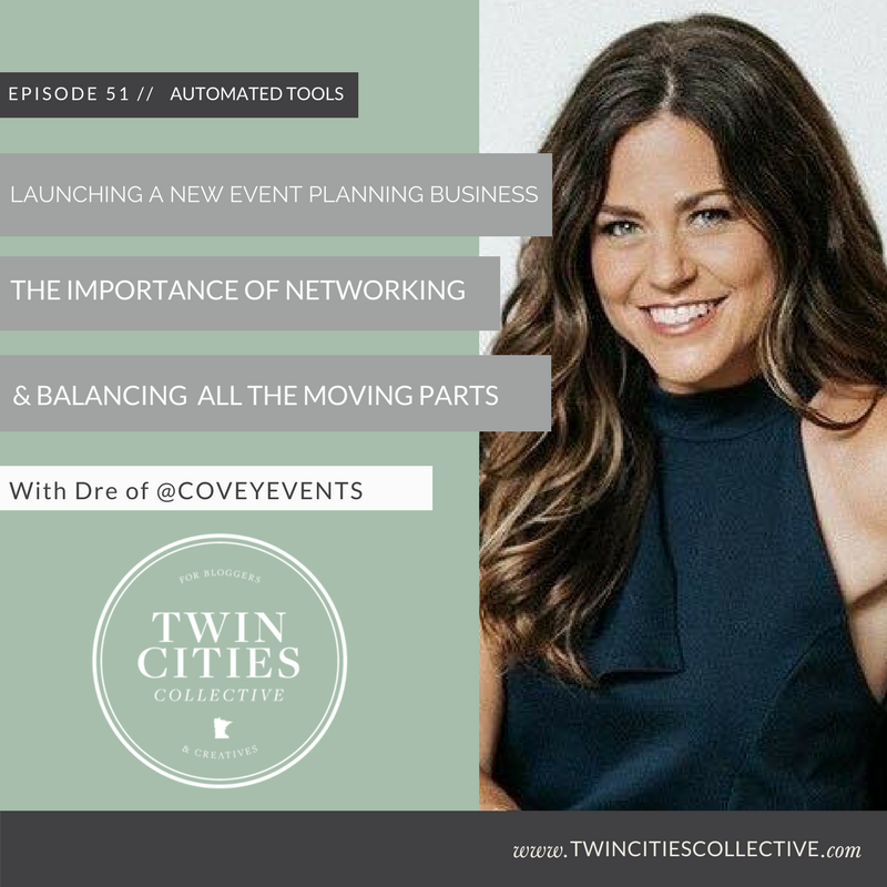 Launching an event planning business, The Importance of Networking & Balancing all the moving parts
