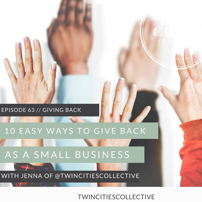 10 Easy Ways to Give Back with Your Small Business