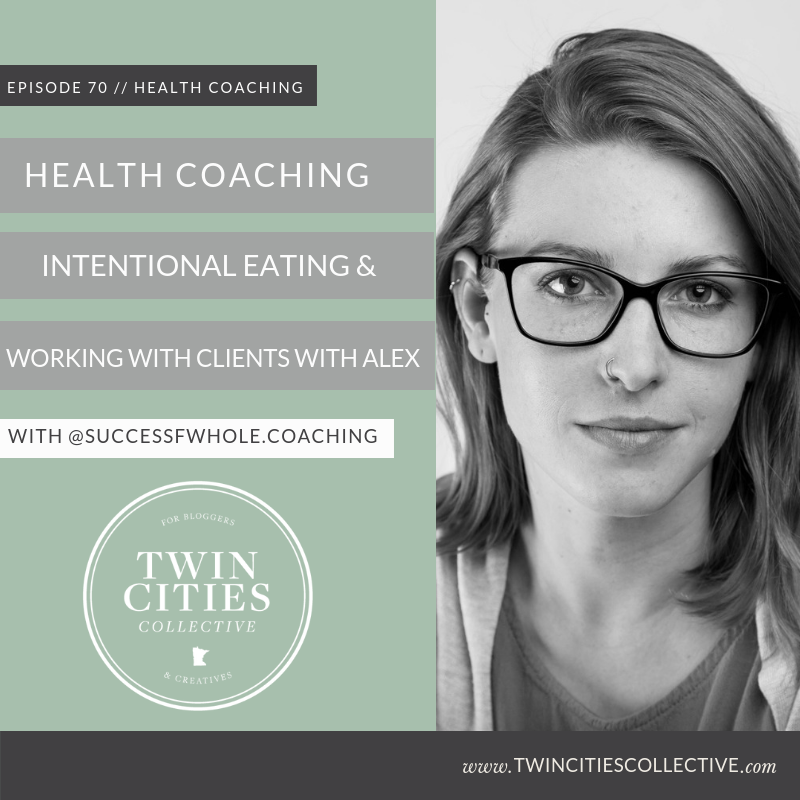Health Coaching, Intentional Eating & Working with Clients with Alex
