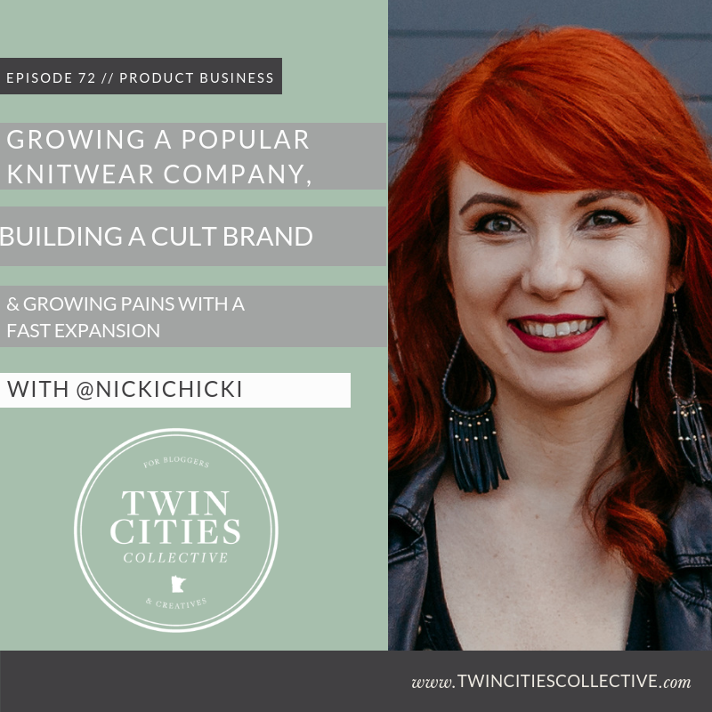 Growing a Popular Knitwear Company, Building a Cult Brand, & Growing Pains with a Fast Expansion