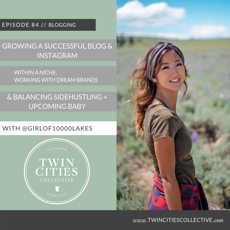 3.84 Growing A Successful Blog & Instagram Within A Niche , Working With Dream Brands & Balancing Sidehustling + Upcoming Baby