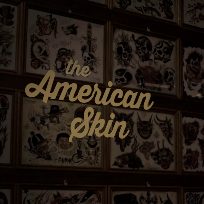 THE AMERICAN SKIN   Brooding electronics and distant whistles pace this short documentary surveying the lives of three Ohio residents and their unique relationships with skin.