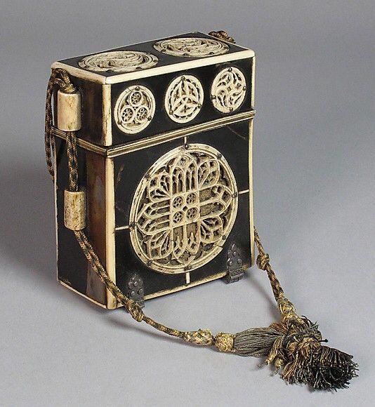 Medieval box for books. Belonged to Anne Boleyn