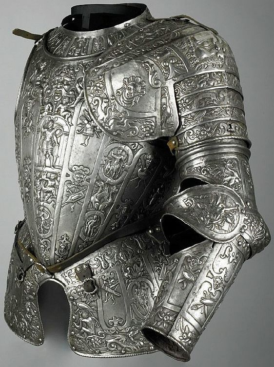 Partial unfinished armour, c.1580, in the manner of Lucio Marliani