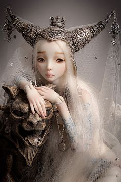 dollmaker Marina Bychkova