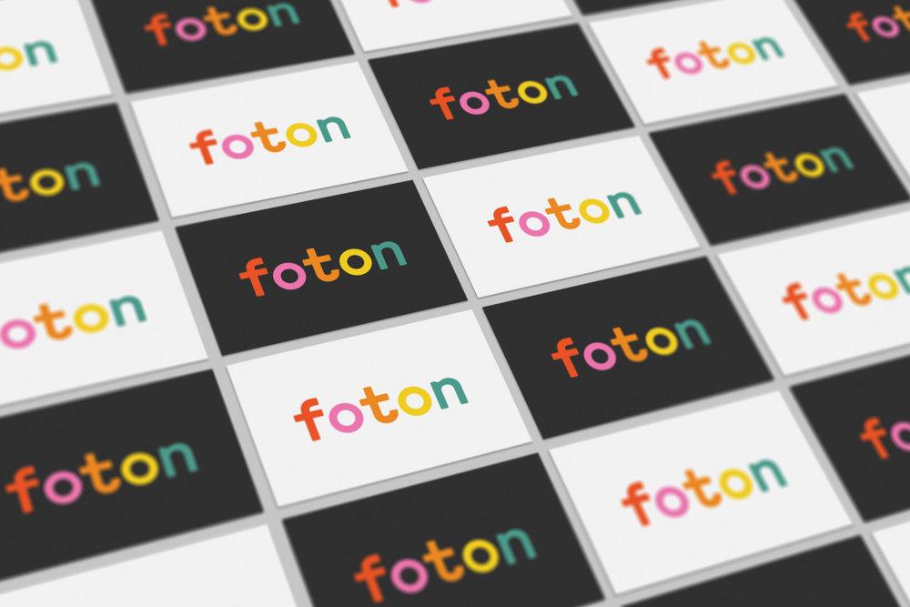 foton brand identity cards
