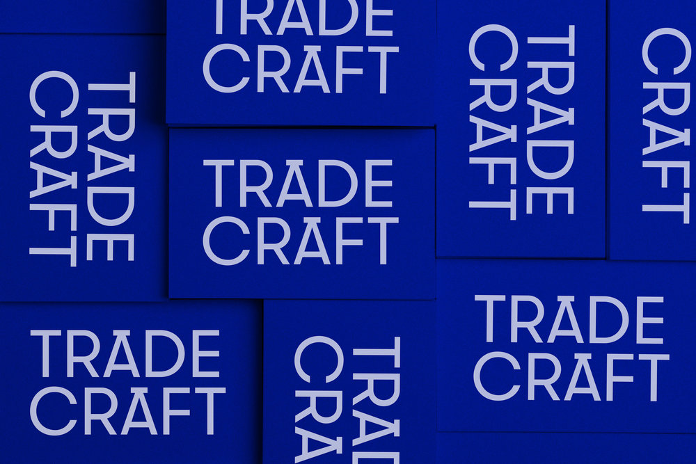 Trade Craft business cards.