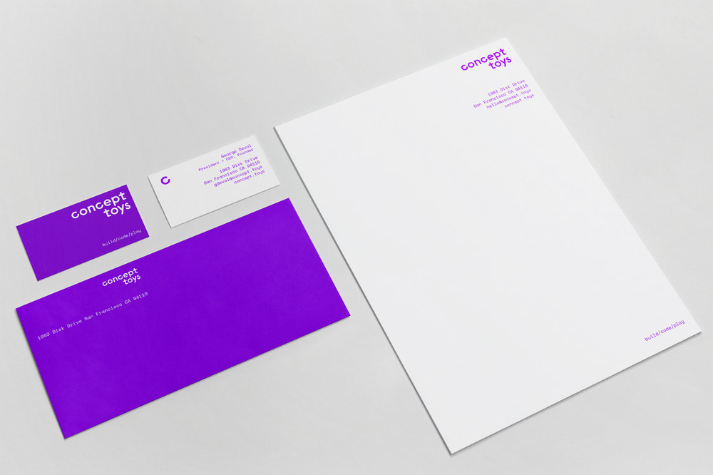Letterhead and stationary system.