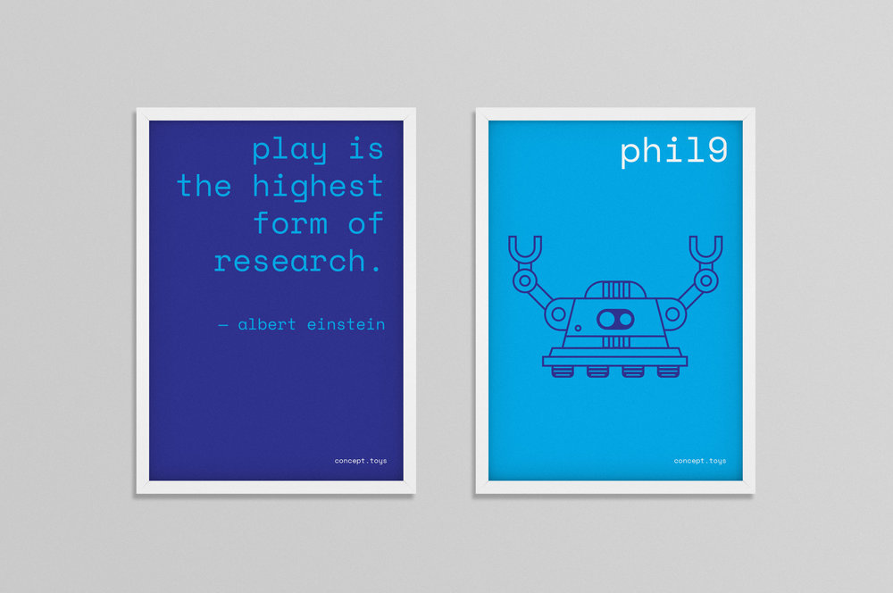 Concept Toys  promotional posters