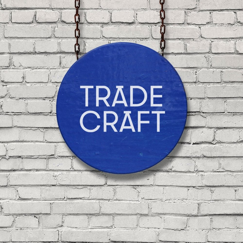 Trade Craft branding, logo and website.