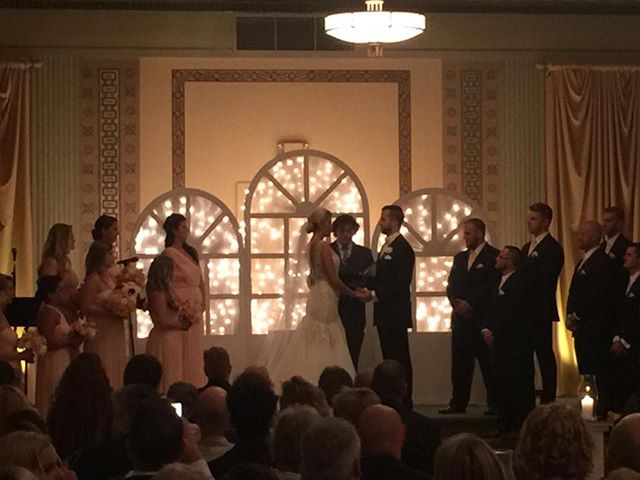 A great wedding ceremony. So happy for Alex and Kenzie!  #marrythatberry. #buckeyesoundsweddings. #buckeyesounds. #columbusweddingdj