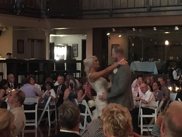 Two become one!  Congrats Olivia and Jake!  #BecomingABallard.  #buckeyesoundsweddings.  #buckeyesounds