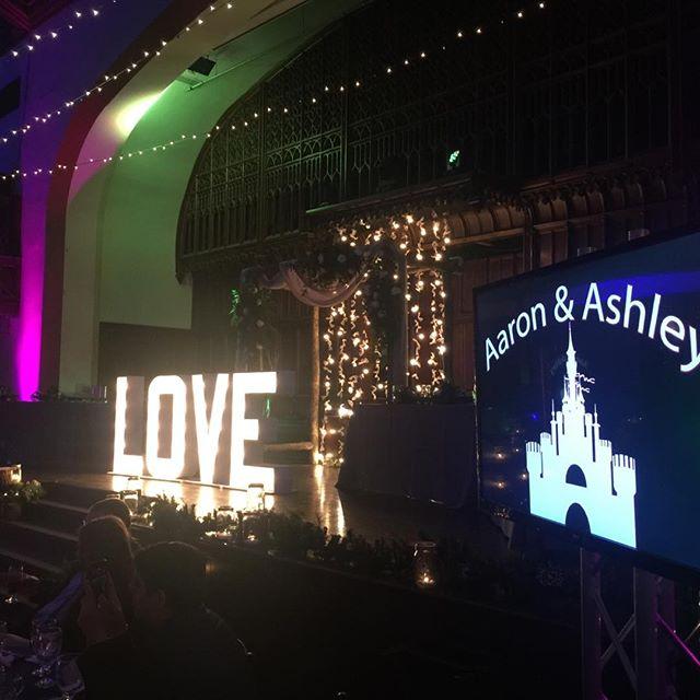 Celebrating with Aaron & Ashley at the Bluestone.  #ingleAllTheWay. #BuckeyeSounds. #columbusweddingdj