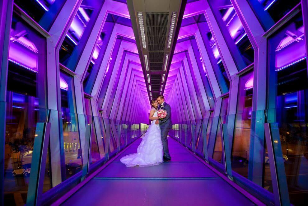 Hilton Columbus Walkway 2015-1 purple (2).JPG
