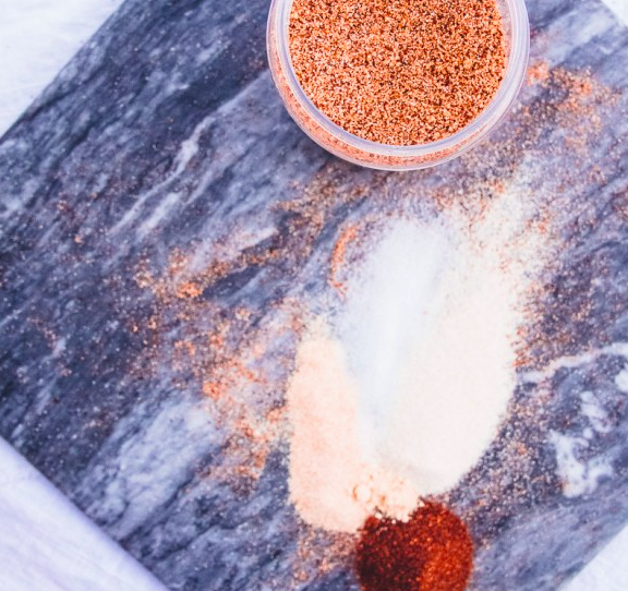 Texas Style Dry BBQ Meat Rub By Dad With A Pan