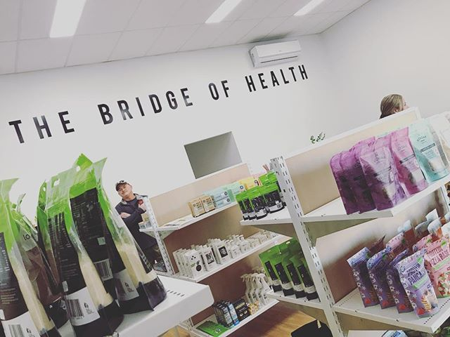 Exciting times ahead!! @thebridgeofhealth_ 🥝Get ready to join the #healthyself trend Yarrawonga/Mulwala. 🍎I'm super excited for tomorrow's opening of our very first health hub ~ a health food store, Nutritionist and Physiotherapist offering Clinical Pilates right here in Mulwala🙌🏻 🤸🏽‍♀️Can't wait to stock up tomorrow - it's looking the goods! Congratulations and best of luck @motive.health.nutrition @bouncebackphysiotherapy_