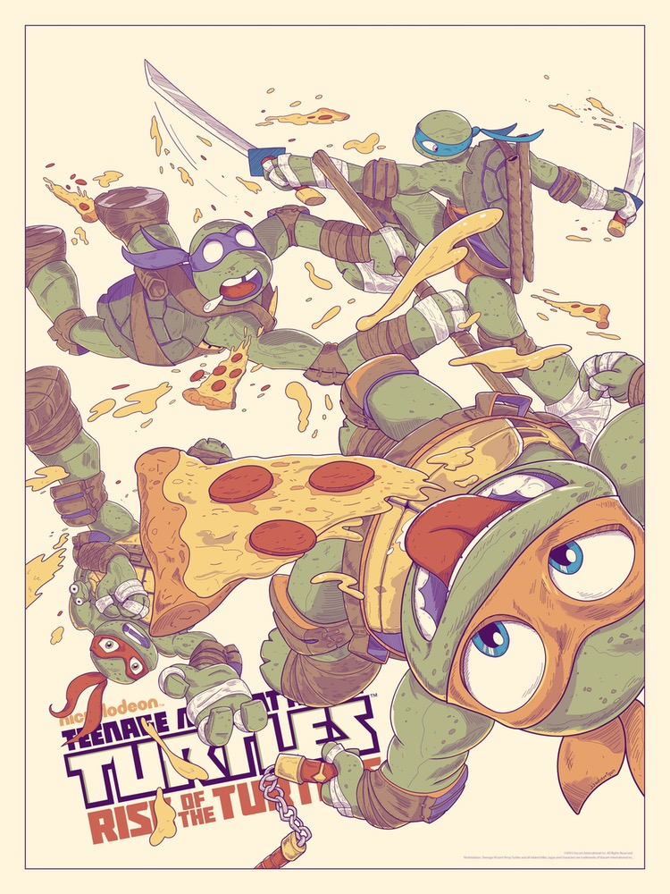 TMNT Rise Of The Turtles  by JJ Harrison