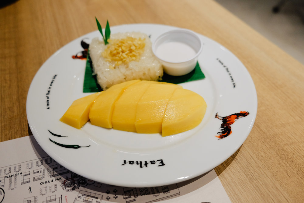 We had to get the Mango Sticky Rice!