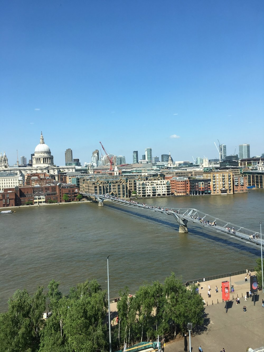 The River Thames. Sir Christopher Wren. Bridge Wobbly. Aloft.