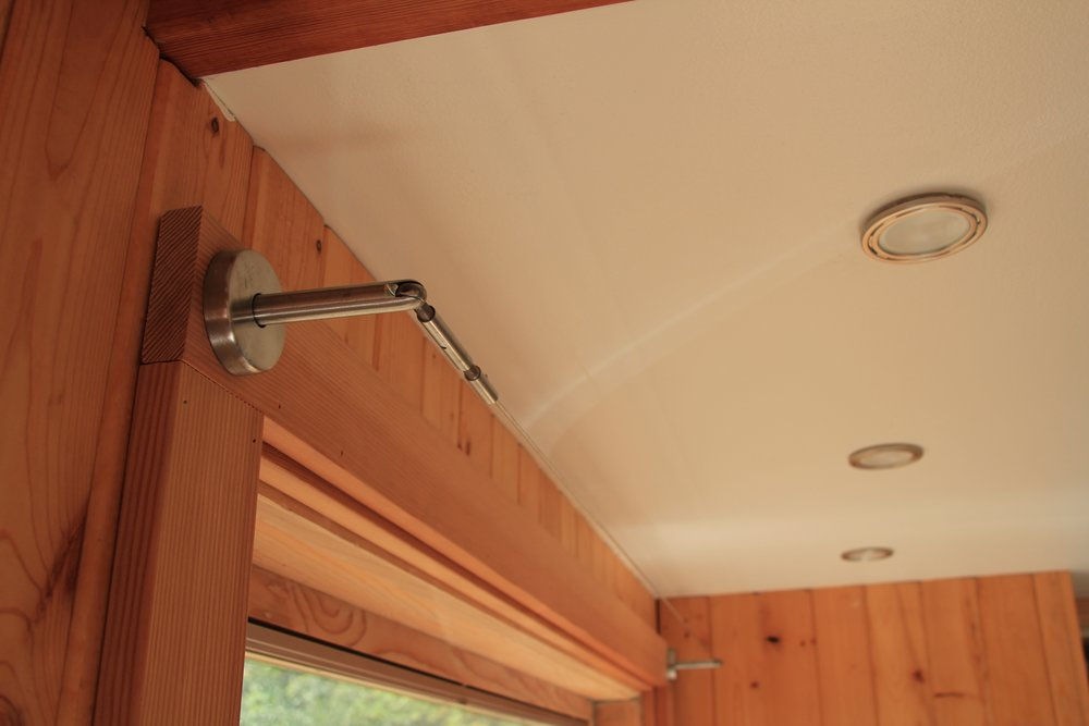 These 'Scandinavian designed' curtain rails are perfect for tiny houses (Thanks, IKEA!).
