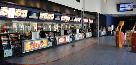 In 2010, we completed a full roll-out of the commercial kitchens of Cineplex theatres across BC.