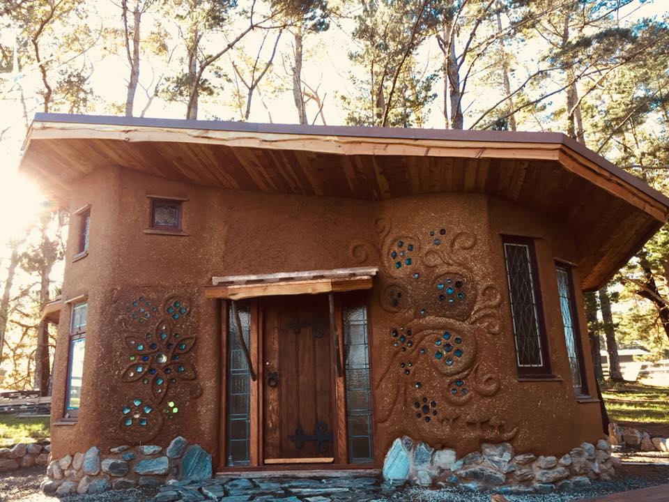 Tanglewood - Cob house - Front.jpg