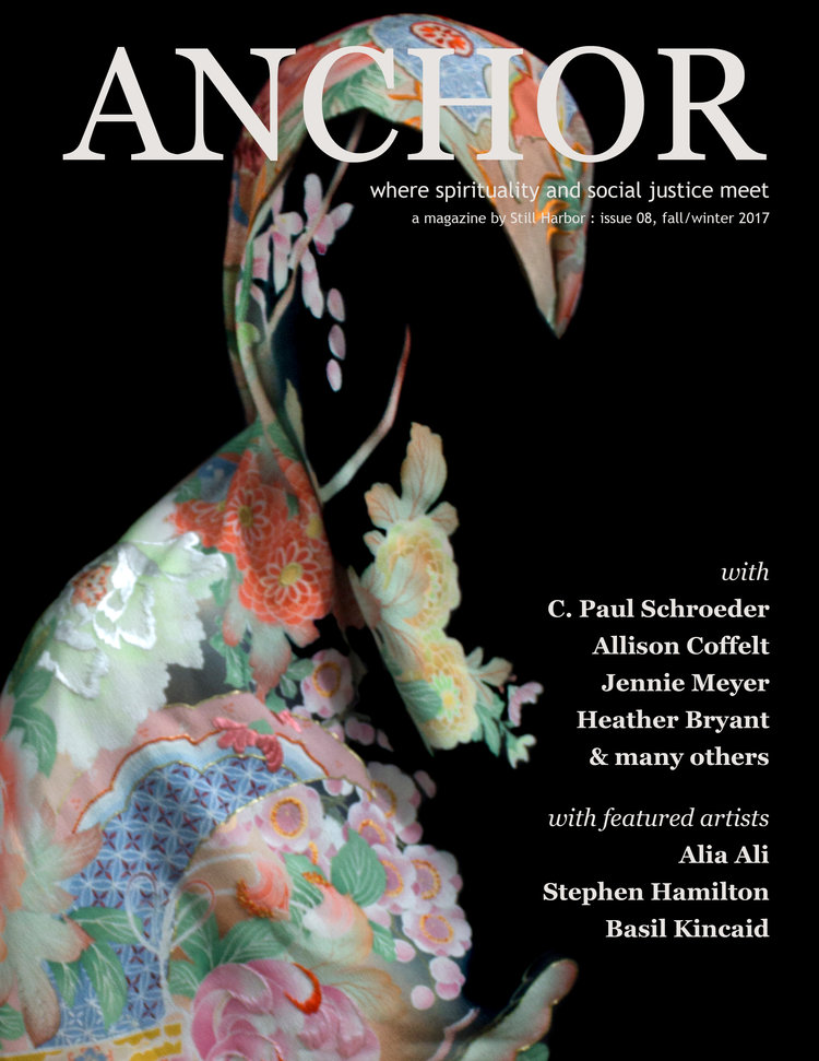 Anchor Magazine Fall/Winter 2017   One of the featured artists.  Read the article here.
