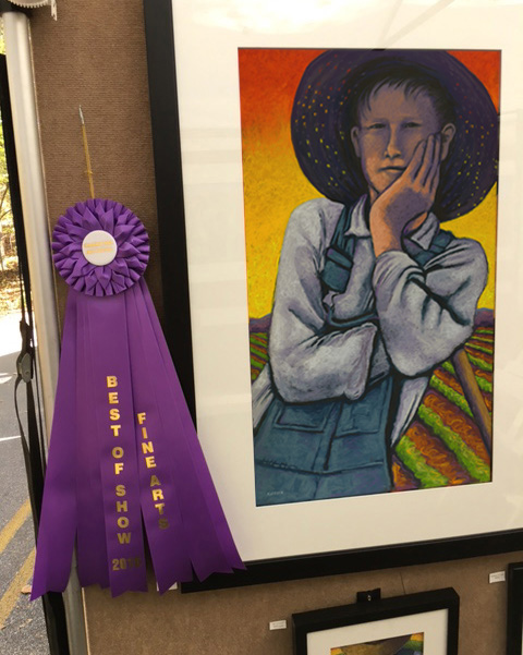 Best Of Show 2016   Chastain Park Fine Arts Show, Atlanta, GA