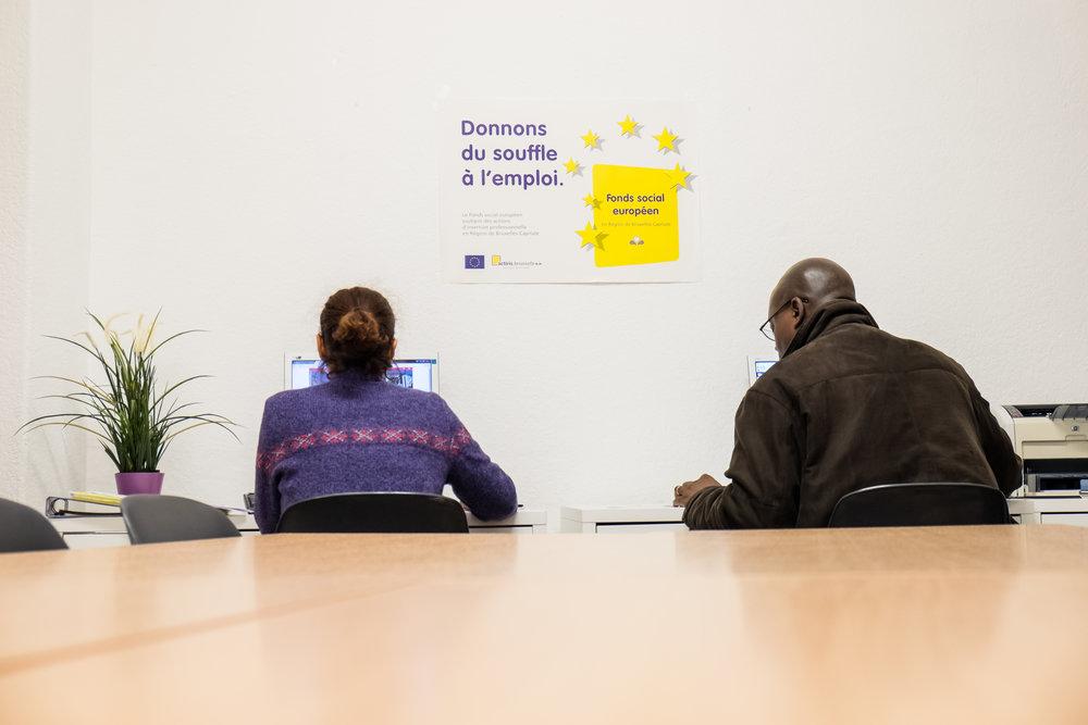 Chercheurs d'emploi Bruxelles