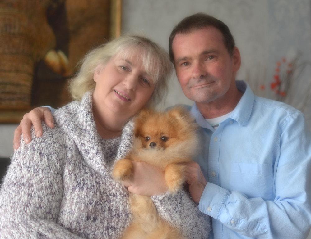Margaret, Oscar and myself.