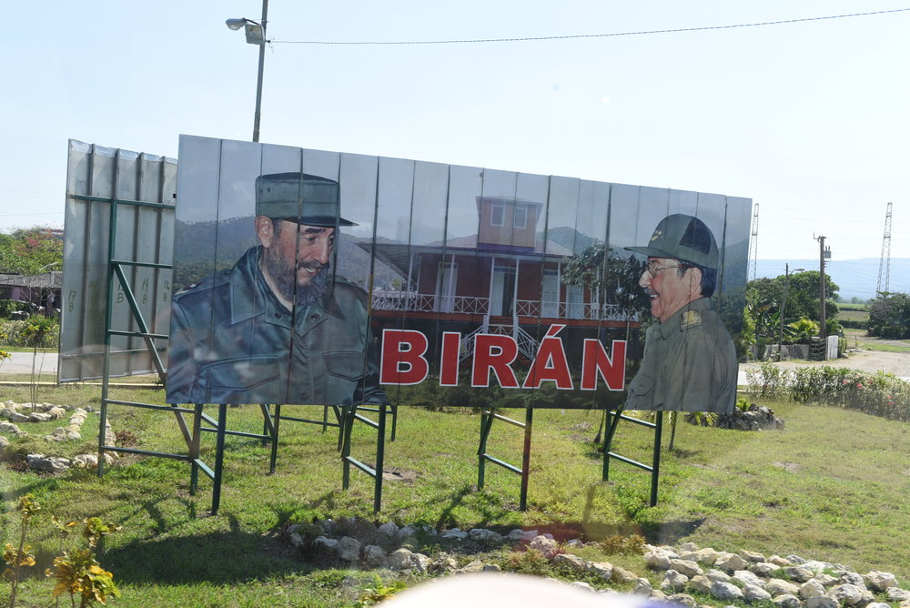 Weclome to Biran, the birthplace of the late Fidel Castro and his brother Raul
